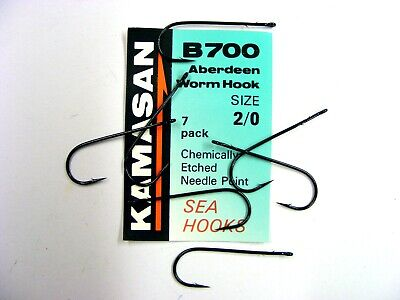 x3 packs per order All Sizes Available Kamasan K60 Worming Hooks