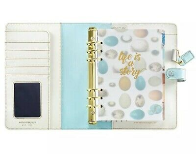 Websters Pages A5 Planner Kit Robins Egg Binder Discontinued Color NEW