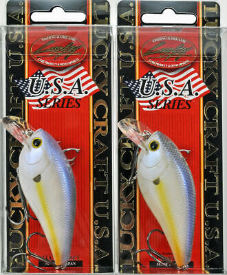 LUCKY CRAFT JAPAN Hagane 70PS 02320720 Gold Holo Red Back