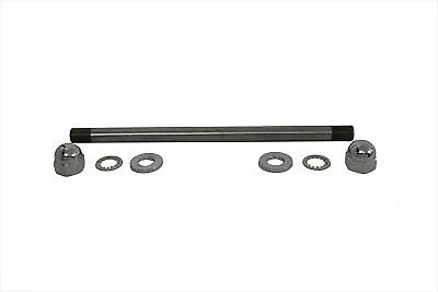 Chrome Rear Axle Kit Pike Type,for Harley Davidson,by V-Twin