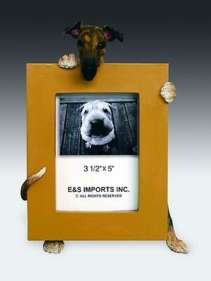 GREYHOUND  BRINDLE    PICTURE FRAME #94