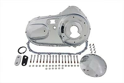 Chrome Outer Primary Cover fits Harley Davidson,V-Twin 43-0201