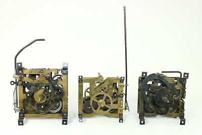 CUCKOO CLOCK MOVEMENTS - JOOS-SCHONACH and REGULA - for PARTS or REPAIR - GG175
