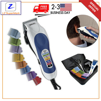 Barber Haircut Color Trimmer WAHL PRO CLIPPER Men Professional Hair Cutting Kit