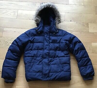 GIRLS COAT 13 Years Gap Hooded Fully lined with a thick fleece lining.