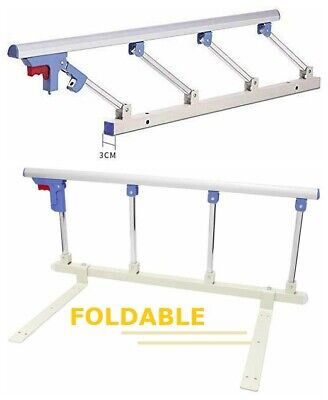 Bed Rail Safety Assist One Key Folding for Kid Adult Handle Handicap Bed Railing