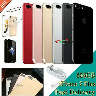 NEW Apple iPhone 7 Plus All Colours Unlocked Mobile Smartphone 32GB 128GB 256GB