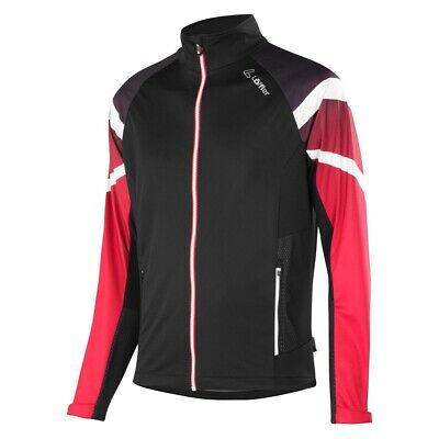 Löffler Worldcup WS Light Softshelljacke schwarz rot