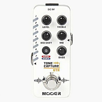 Mooer Tone Capture GTR Guitar Effects Pedal capture any guitar's tone