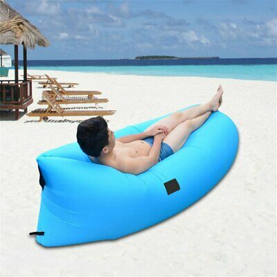 Ultra-light Outdoor Inflatable Lounger Bag Air Sofa Fast Inflated Air Chairer9