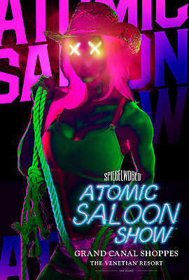 2 Tickets To The Atomic Saloon Show In Las Vegas