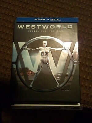 Westworld: The Complete First Season (Blu-ray Disc, 2017)Digital Code Used
