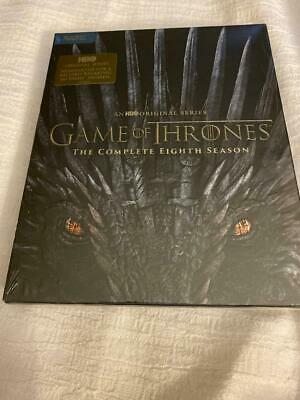 Game of Thrones 8th Season Blu Ray (No digital copy) - Brand New