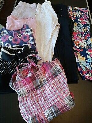 Bundle girls clothes 5-6 7-8 yrs tops pjs tops tshirt Jeans trousers Lot 49Y