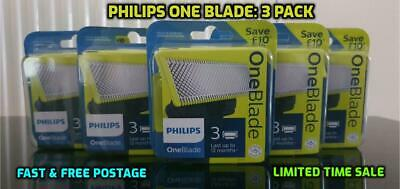 Philips OneBlade Replacement Blades Refill  - Triple 3 Pack - SALE