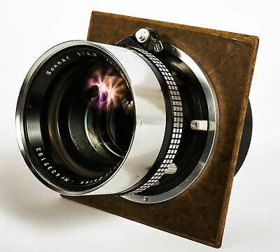 Zeiss 180mm f/4.8 Sonnar SYN ComP Graflex (50MT)  Lens