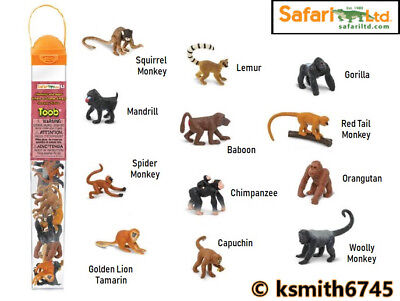 SAFARI LTD SAF680604 MONKEYS AND APES TOOB
