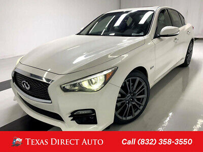2016 Infiniti Q50 3.0t Red Sport 400 Texas Direct Auto 2016 3.0t Red Sport 400 Used Turbo 3L V6 24V Automatic RWD