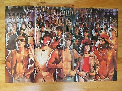1979 THE WARRIORS Poster Magazine Pin-Up VERMIN AJAX CLEON COCHISE COWBOY SWAN