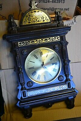 Weimar Quartz Battery Operated Ornate Wall Clock Made in GDR