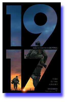 """1917 Poster Movie 11""""x17"""" 2019 Sam Mendes Number SHIPS SAMEDAY FROM USA"""