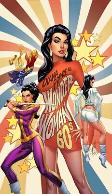 Wonder Woman #750 J Scott Campbell 1960S Variant Ed (Note Price) (22/01/2020)