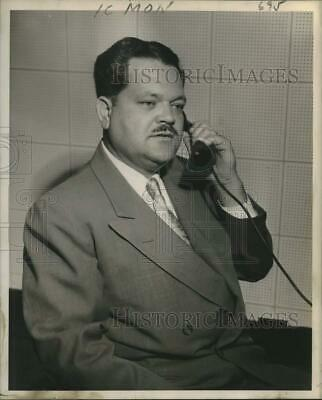 1953 Press Photo C.S. King, Owner of King Finance Company - nob53362