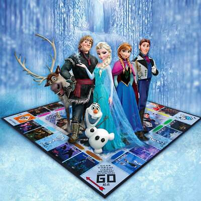 Monopoly Frozen II Board Game -Family Fun Christmas Gift Birthday Party Games