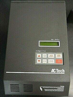 20 HP Lenze AC Tech MCH Series Enclosed Variable Frequency Drive 400 – 480 VAC 3