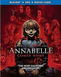 BRAND NEW!! - Annabelle Comes Home: w/Slipcover (Blu-ray, DVD, Digital Code)