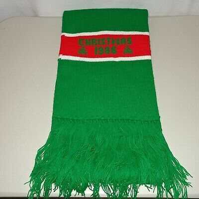 Vintage 1986 The White House Christmas Scarf Holidays President Collectible