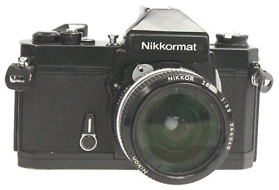 NIKON NIKKORMAT FT2 SLR Camera With Nikon 28mm f/3.5 Lens  - G35