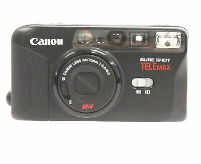 CANON SureShot TeleMax 35mm Camera With Canon 38-70mm f/3.5-6 Lens - D21