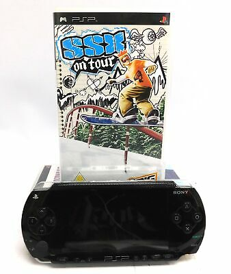 SONY PSP PlayStation Portable Handheld Console Bundle 4 Games - P39