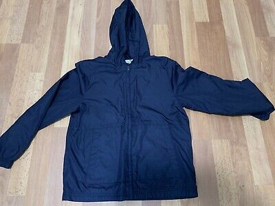 Cherokee Boys Uniform Light Lined Jacket Navy Blue Size Medium M 8-10