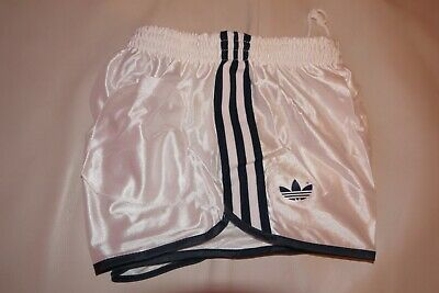 NEW Vintage Adidas Shorts True RUNNER SPRINTER Vinyl Shiny Retro glanz Germany
