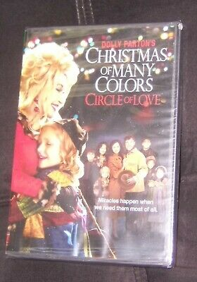 Dolly Parton Christmas Of Many Colors Circle Of Love Dvd - Brand New