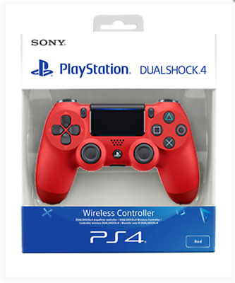 PS4 DualShock 4 Controller V2 (RED) BRAND NEW SEALED SONY & UK FAST POST