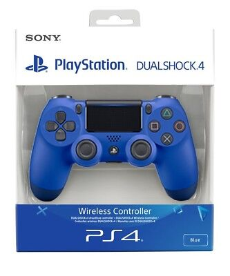 PS4 DualShock 4 Controller (Blue)V2 BRAND NEW SEALED SONY-FREE UK POST