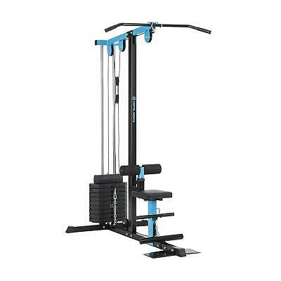 Appareil musculation Station traction multifonction 45kg poids 10 positions