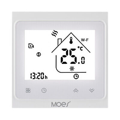 MOES Intelligent Temp Control Thermostat for Electric Floor Water Heating Boiler