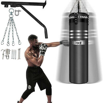 Punch Bag for Boxing Training, Adult & Teens Heavy Punch Bag with Hanging Chain