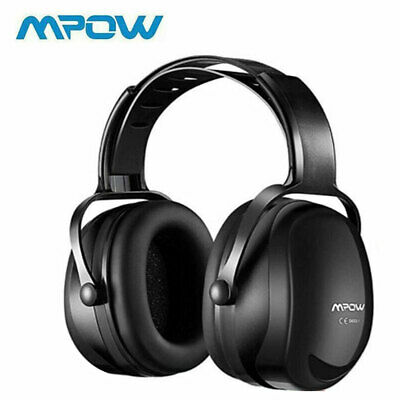 Mpow Foldable Ear Defenders Adults Noise Reduction Safety Soft Earmuffs Shooting