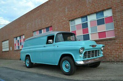1955 Chevrolet Other Pickups  1955 Chevy panel truck with built Duramax diesel and Allison trans new chassis