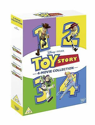 TOY STORY 1-4 DVD Collection (2019) 4 Movie Set Free USPS First Class Shipping!