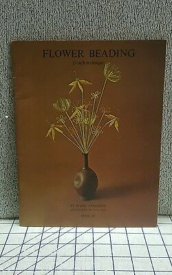 Flower Beading French Technique Book 4 by Bobbe Anderson Paperback Magazine 1970