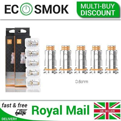 GeekVape Aegis Boost Coils-Pack Of 5x Mesh 0.6Ω Boost Kit Coils - 1st Class Post