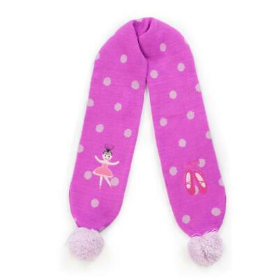 Kidorable Knit Ballerina Scarf One Size Fits Most, Soft Material Cloths