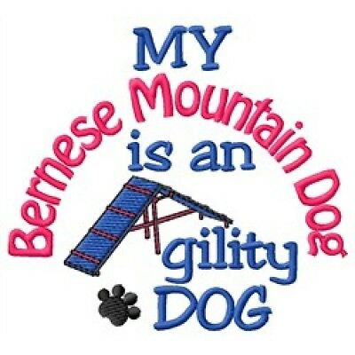 My Bernese Mountain Dog is An Agility Dog Short-Sleeved Tee - DC2088L