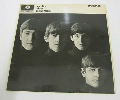 The Beatles With The Beatles  Lp Parlophone Pmc 1206 Mono